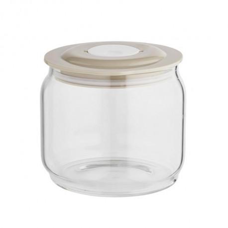 Pot yaourt en verre SIMEO les 2