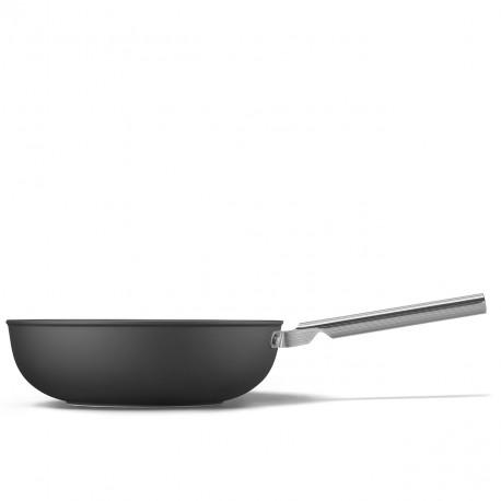 Wok noir mat 30cm SMEG CKFW3001BLM