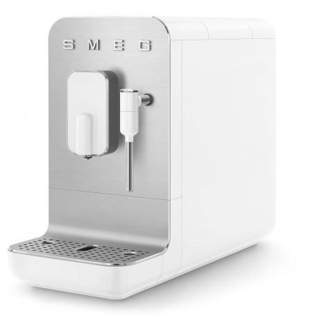 Machine à café Expresso avec broyeur Blanc Mat SMEG BCC02WHMEU