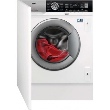 Lave linge encastrable AEG LWX8463BI