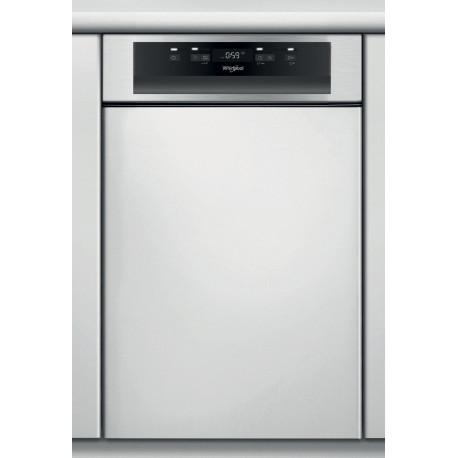 Lave vaisselle encastrable 45cm Whirlpool WSBC3M17X