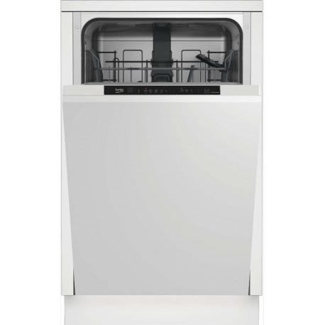 Lave vaisselle tout intégrable 45cm Beko LVI42F