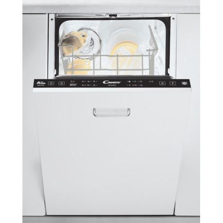 Lave vaisselle tout intégrable 45cm Candy CDIH2L1047