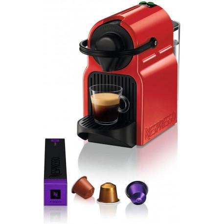 Nespresso Krups Inissia Red Ruby YY1531FD Colorée, accessible et ultra-compacte