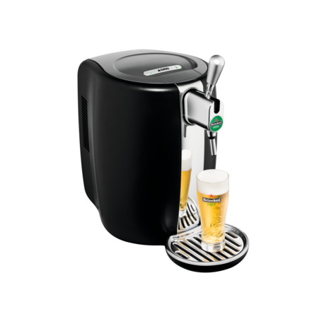 Tireuse à bière SEB VB310E Beertender Noir L'abus d'alcool est dangereux pour la santé